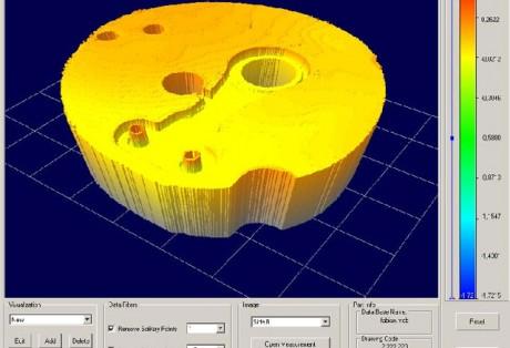 Medição tridimensional de micro componentes por interferometria de luz branca