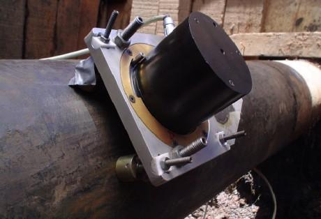 Medição a laser de tensões residuais em dutos