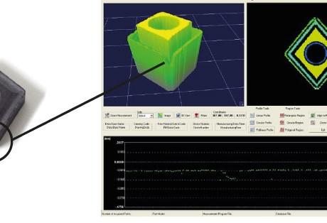 Medição de parâmetros geométricos e avaliação de desgaste em ferramentas de corte
