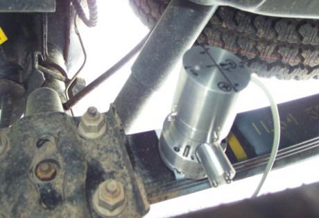 Medição a laser de tensões e deformações em estruturas e componentes mecânicos